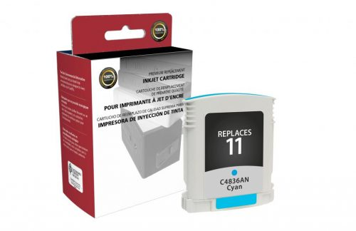 OTPG Remanufactured Cyan Ink Cartridge for HP C4836A (HP 11)