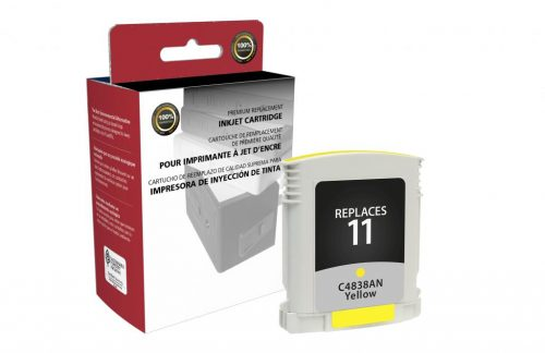 OTPG Remanufactured Yellow Ink Cartridge for HP C4838A (HP 11)