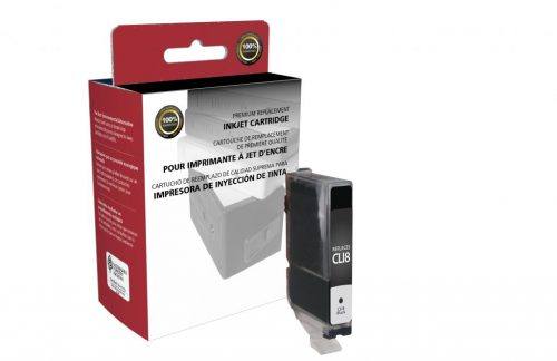 OTPG Remanufactured Black Ink Cartridge for Canon CLI-8