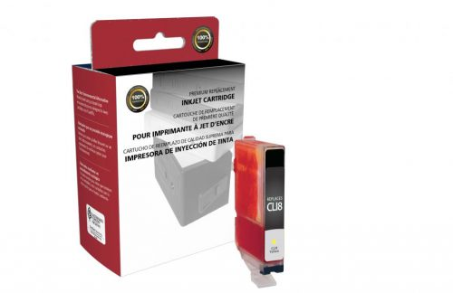 OTPG Remanufactured Yellow Ink Cartridge for Canon CLI-8