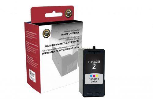 OTPG Remanufactured Color Ink Cartridge for Lexmark #2