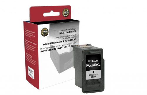 OTPG Remanufactured High Yield Black Ink Cartridge for Canon PG-240XL
