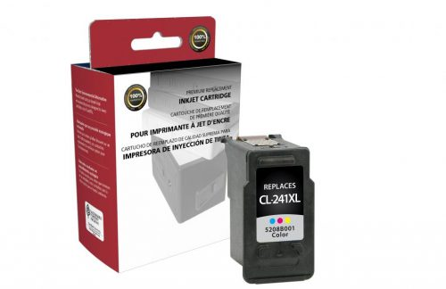 OTPG Remanufactured High Yield Color Ink Cartridge for Canon CL-241XL