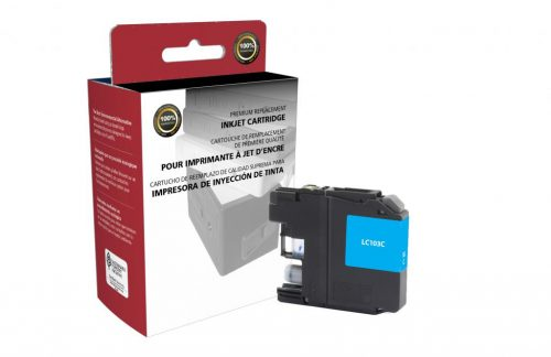 OTPG Non-OEM New High Yield Cyan Ink Cartridge for Brother LC103XL