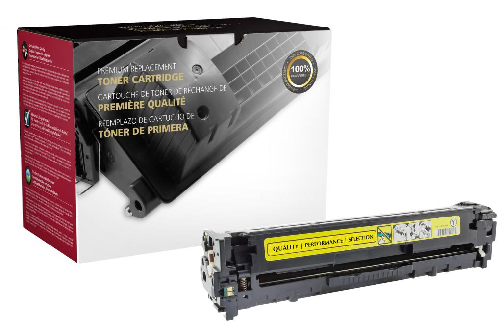 OTPG Remanufactured Yellow Toner Cartridge for HP CE322A (HP 128A)