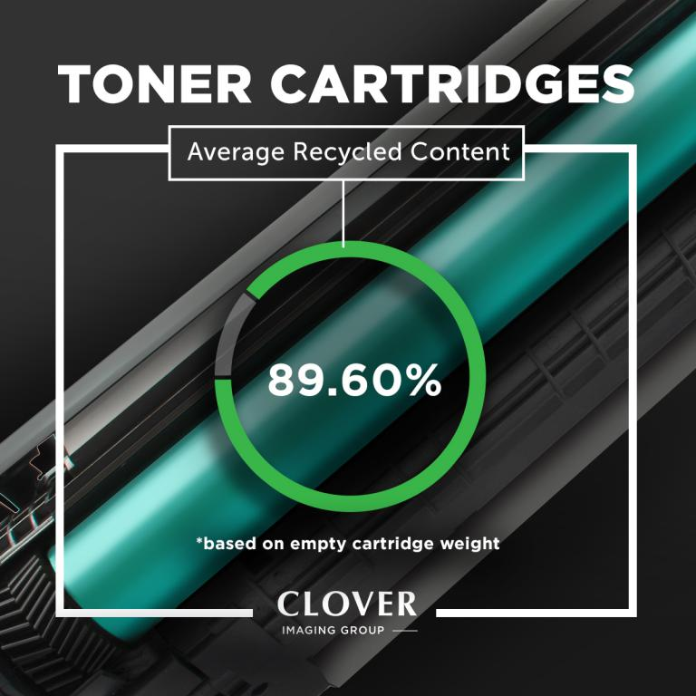 OTPG Remanufactured Cyan Toner Cartridge for HP CE321A (HP 128A)