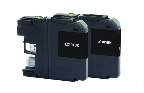 OTPG Non-OEM New Black Ink Cartridges for Brother LC101 2-Pack