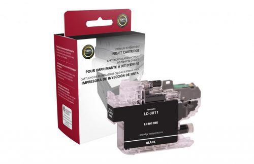 OTPG Non-OEM New Black Ink Cartridge for Brother LC3011