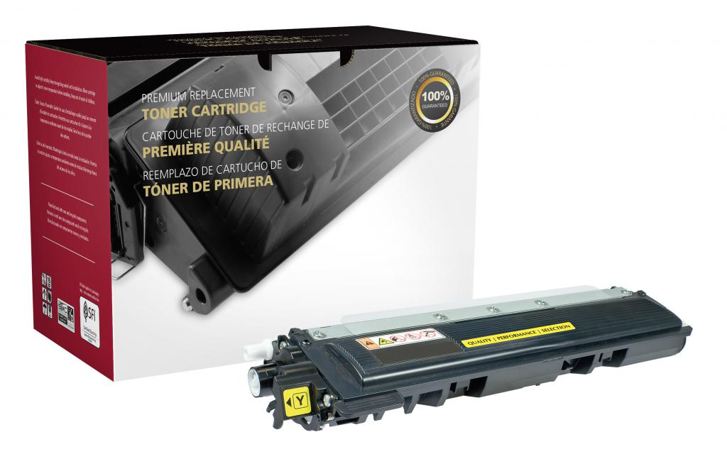 OTPG Remanufactured Yellow Toner Cartridge for Brother TN210