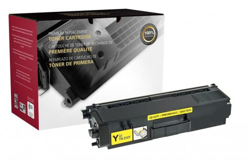 OTPG Remanufactured High Yield Yellow Toner Cartridge for Brother TN315