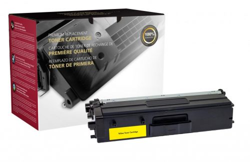 OTPG Remanufactured High Yield Yellow Toner Cartridge for Brother TN433Y