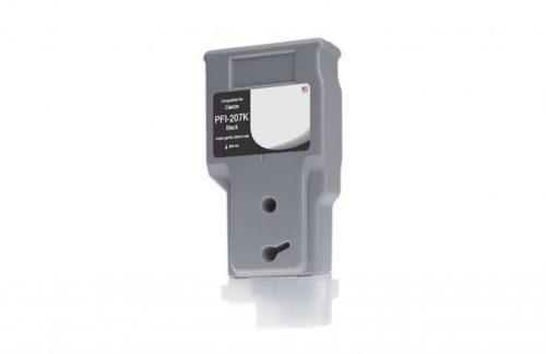 WF Non-OEM New Black Wide Format Ink Cartridge for 8789B001AA (PFI-207)