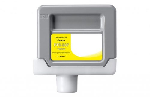 WF Non-OEM New Yellow Wide Format Ink Cartridge for 9814B001AA (PFI-307)