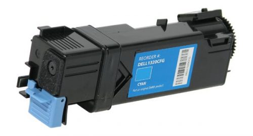OTPG Non-OEM New High Yield Cyan Toner Cartridge for Dell 1320