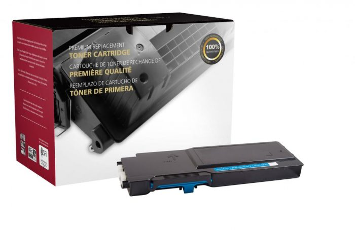 OTPG Remanufactured High Yield Cyan Toner Cartridge for Dell C2660