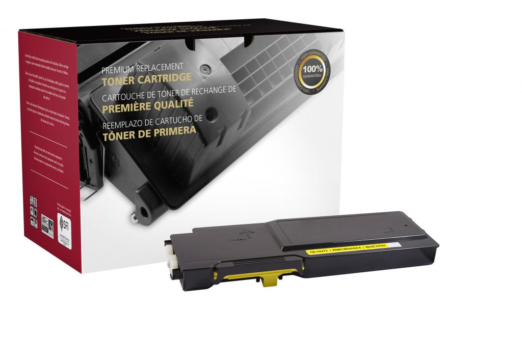OTPG Remanufactured High Yield Yellow Toner Cartridge for Dell C2660
