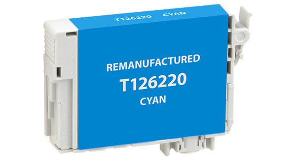 EPC Remanufactured Cyan Ink Cartridge for Epson T126220