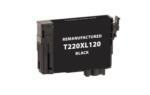 EPC Remanufactured Black Ink Cartridge for Epson T220120/T220XL120