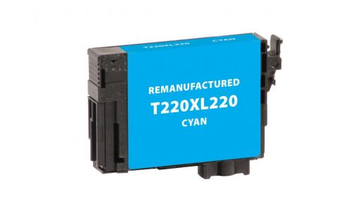 EPC Remanufactured Cyan Ink Cartridge for Epson T220220/T220XL220