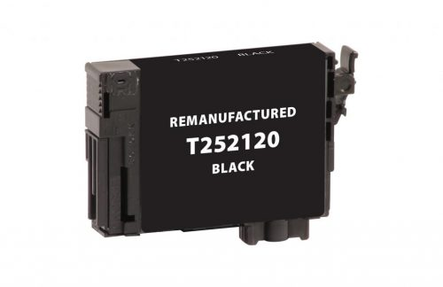 EPC Remanufactured Black Ink Cartridge for Epson T252120