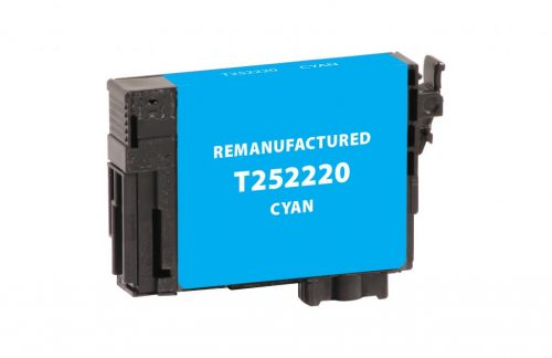 EPC Remanufactured Cyan Ink Cartridge for Epson T252220