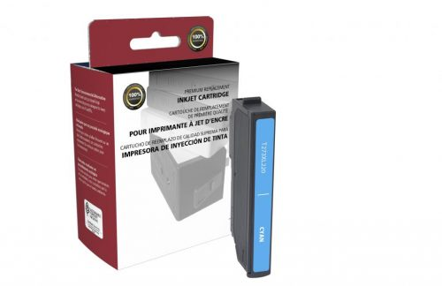 EPC Remanufactured High Capacity Cyan Ink Cartridge for Epson T273XL220