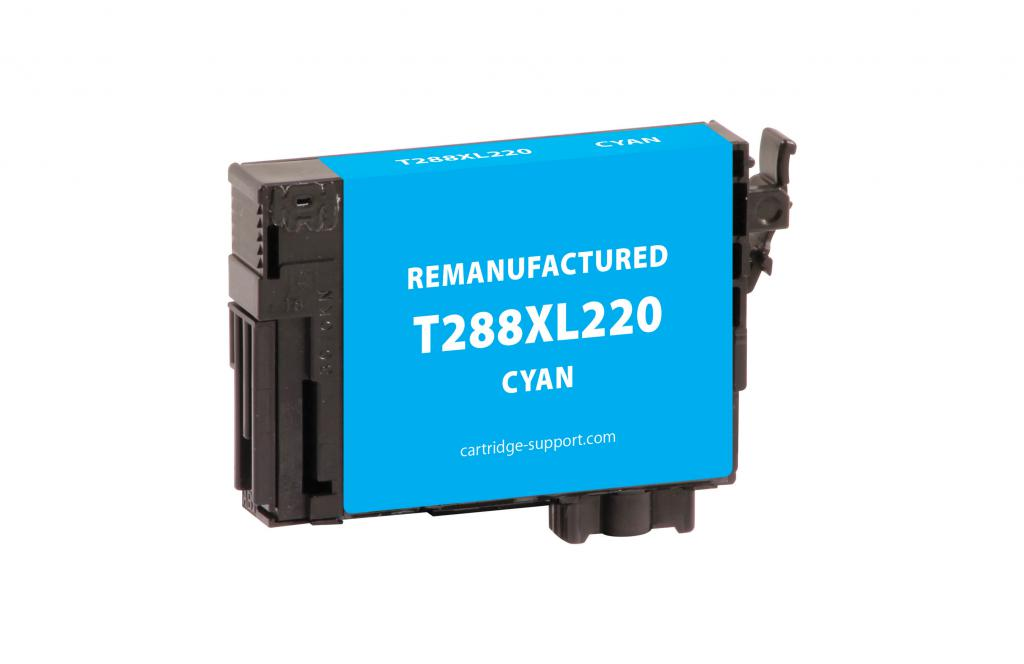EPC Remanufactured High Capacity Cyan Ink Cartridge for Epson T288XL220