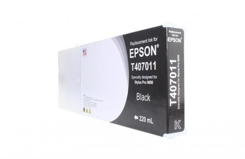 WF Non-OEM New Black Wide Format Ink Cartridge for T407011