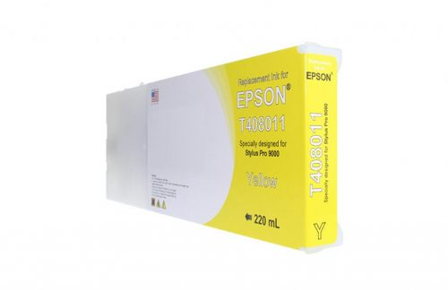 WF Non-OEM New Yellow Wide Format Ink Cartridge for T408011