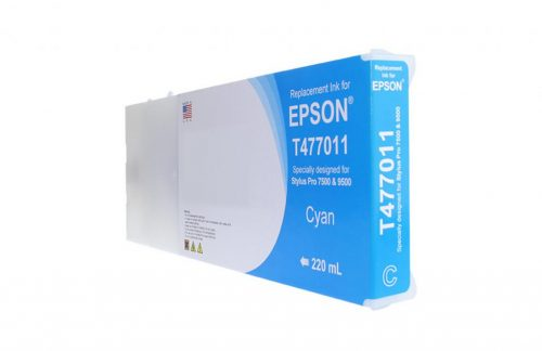 WF Non-OEM New Cyan Wide Format Ink Cartridge for T477011