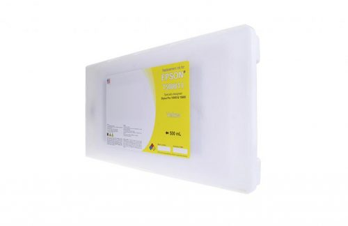 WF Non-OEM New Yellow Wide Format Ink Cartridge for T500011