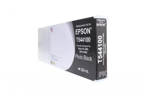 WF Remanufactured High Capacity Photo Black Wide Format Ink Cartridge for Epson T544100