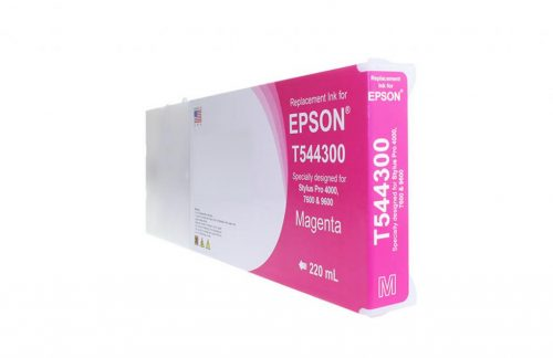 WF Remanufactured High Capacity Magenta Wide Format Ink Cartridge for Epson T544300