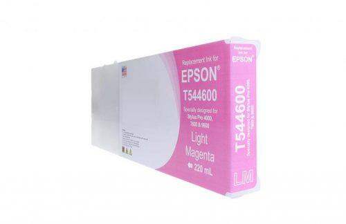 LC Remanufactured High Capacity Light Magenta Wide Format Ink Cartridge for Epson T544600