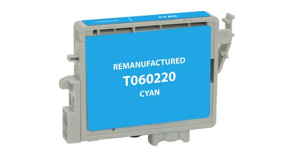 EPC Remanufactured Cyan Ink Cartridge for Epson T060220