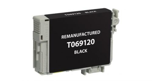EPC Remanufactured Black Ink Cartridge for Epson T069120