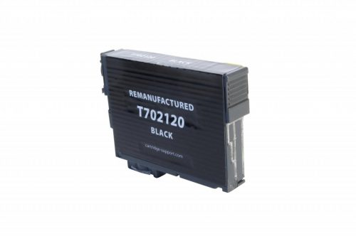 EPC Remanufactured Black Ink Cartridge for Epson T702120