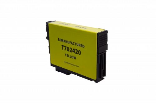 EPC Remanufactured Yellow Ink Cartridge for Epson T702420