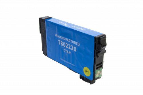 EPC Remanufactured Epson T802 Cyan Inkjet Cartridge