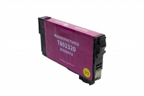 EPC Remanufactured Magenta Ink Cartridge for Epson T802320