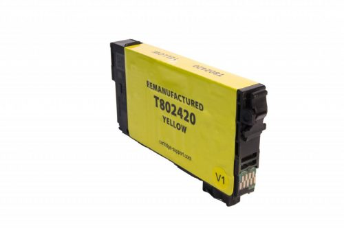 EPC Remanufactured Yellow Ink Cartridge for Epson T802420