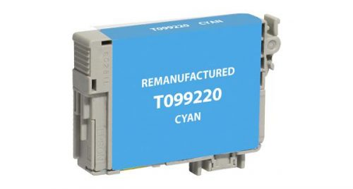 EPC Remanufactured Cyan Ink Cartridge for Epson T099220