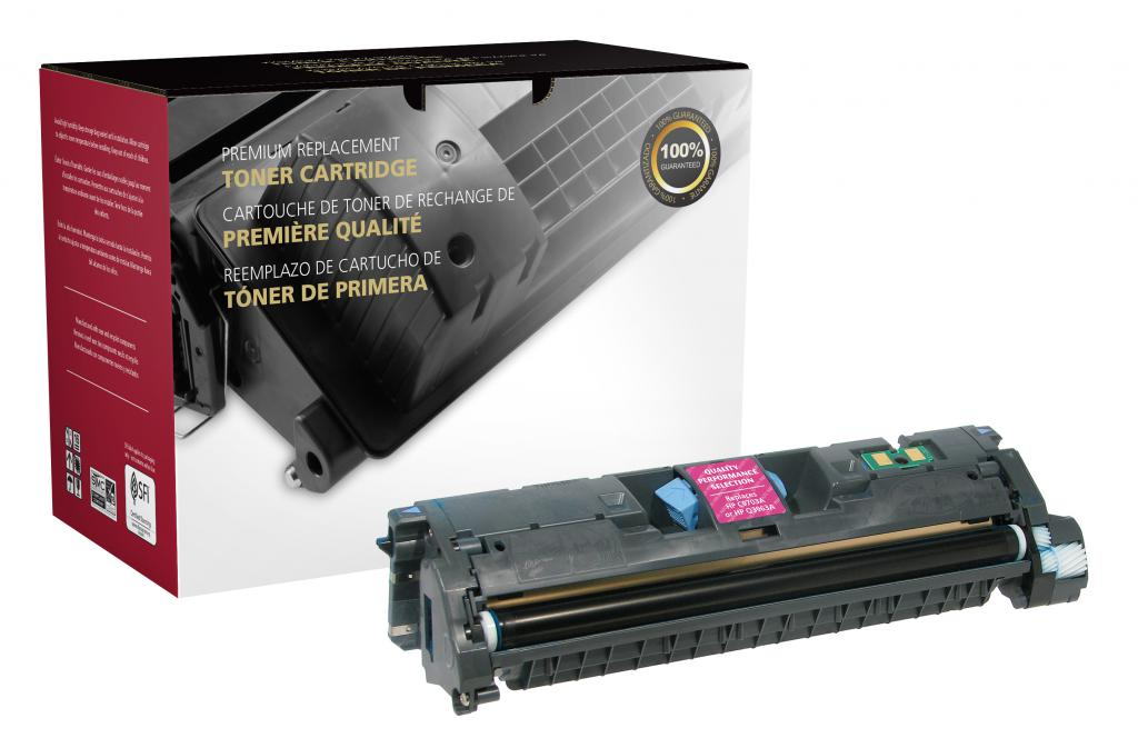 OTPG Remanufactured Magenta Toner Cartridge for HP C9703A/Q3963A (HP 121A/122A/123A)