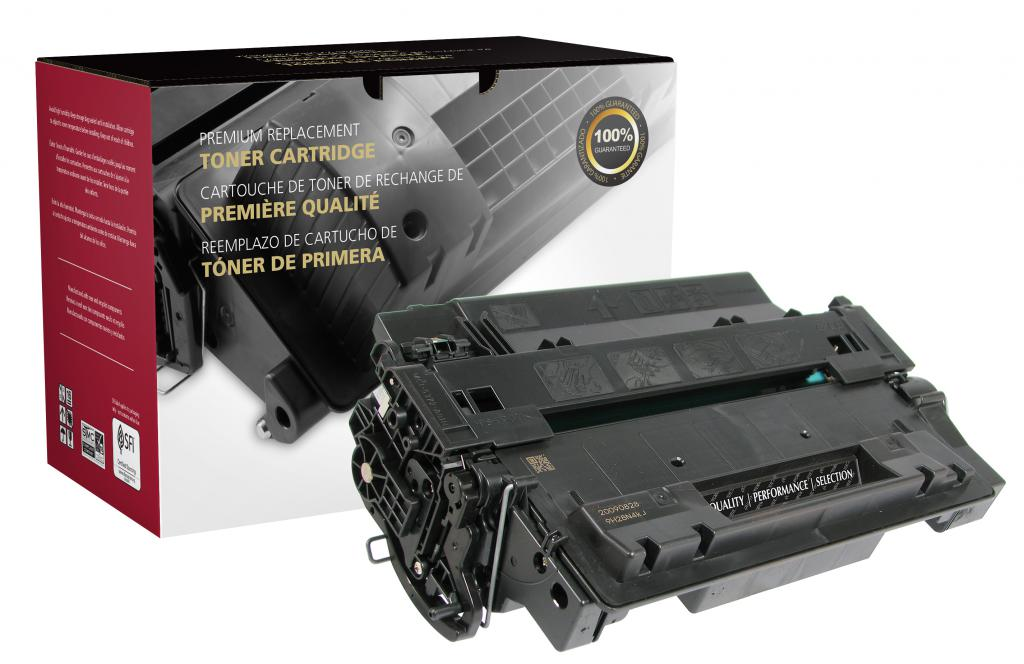 OTPG Remanufactured High Yield Toner Cartridge for HP CE255X (HP 55X)