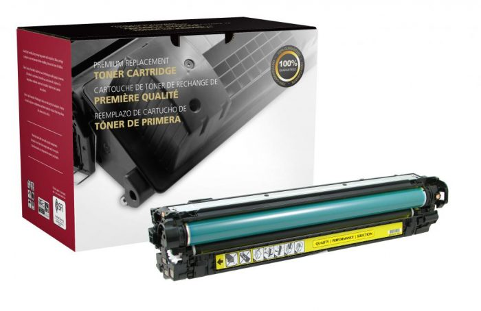 OTPG Remanufactured Yellow Toner Cartridge for HP CE272A (HP 650A)