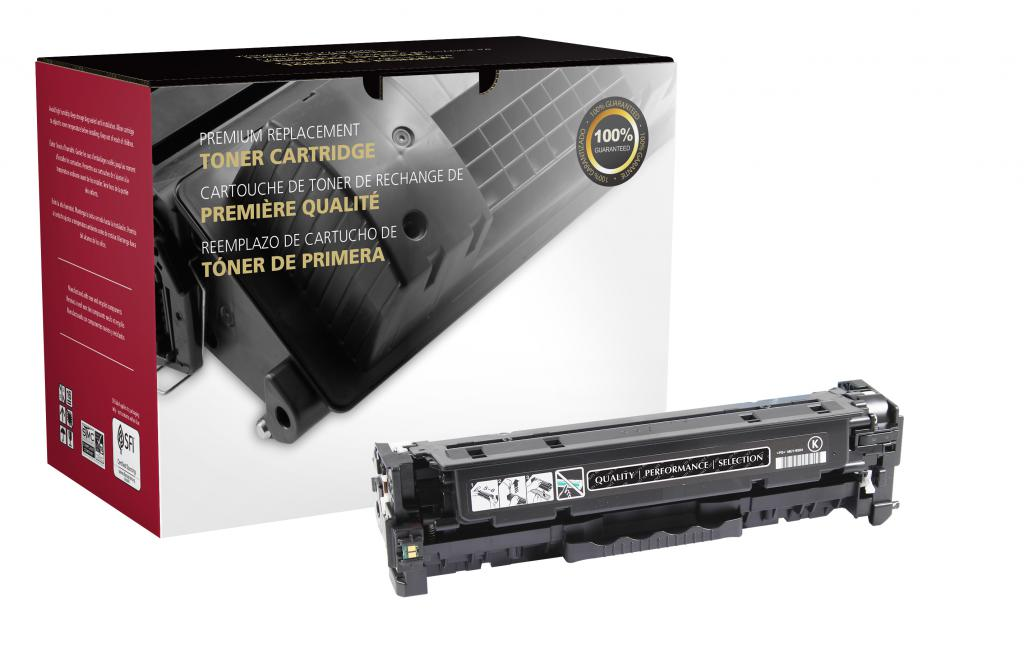 OTPG Remanufactured High Yield Black Toner Cartridge for HP CF380X (HP 312X)