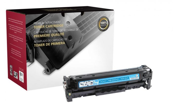 OTPG Remanufactured Cyan Toner Cartridge for HP CF381A (HP 312A)