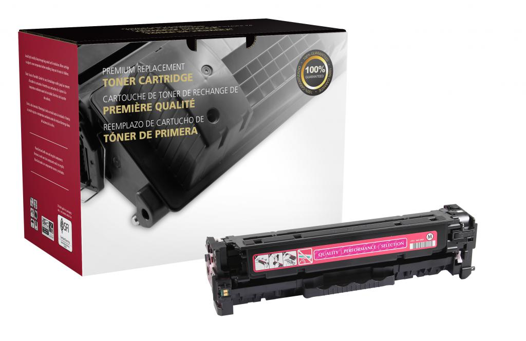 OTPG Remanufactured Magenta Toner Cartridge for HP CF383A (HP 312A)