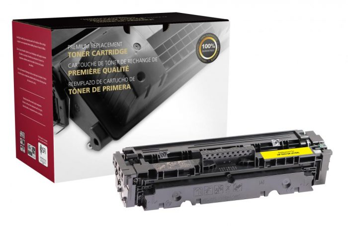 OTPG Remanufactured Yellow Toner Cartridge for HP CF412A (HP 410A)