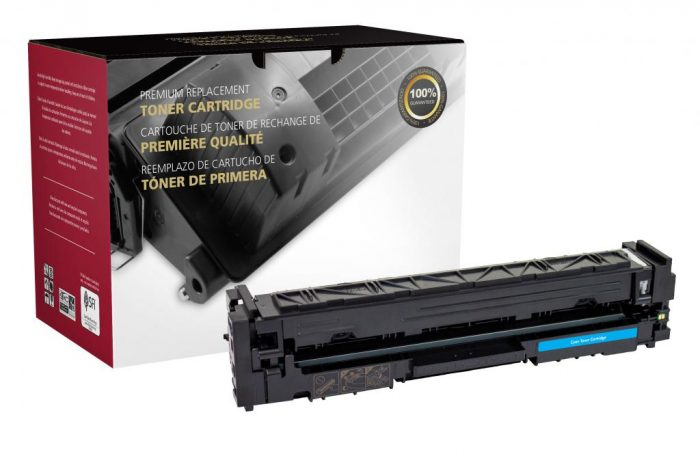 OTPG Remanufactured High Yield Cyan Toner Cartridge for HP CF501X (HP 202X)